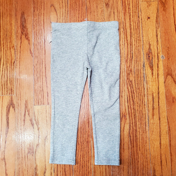 Flapdoodles Heathered Gray Legging