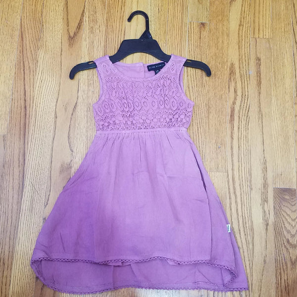 Silver Jeans Lilac Lace Dress