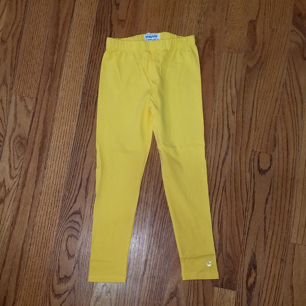 Mayoral Yellow Legging