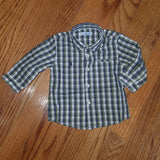Mayoral Baby L/S Checked Shirt