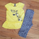 Minibamba 2pc Giraffe Tunic set