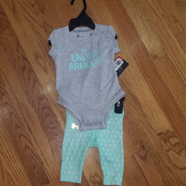UA Gray/Mint 2pc set