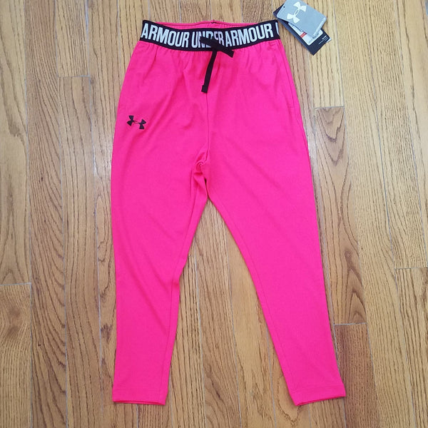 UA Youth Pink with Pockets Legging