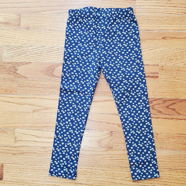 Mayoral Navy Floral Leggings