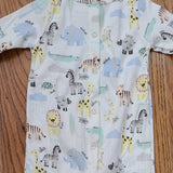 Up Baby Zoo Animals Pant Romper