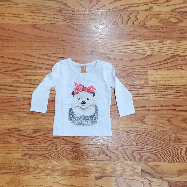 Up Baby Bling Hedgehog Long Sleeve