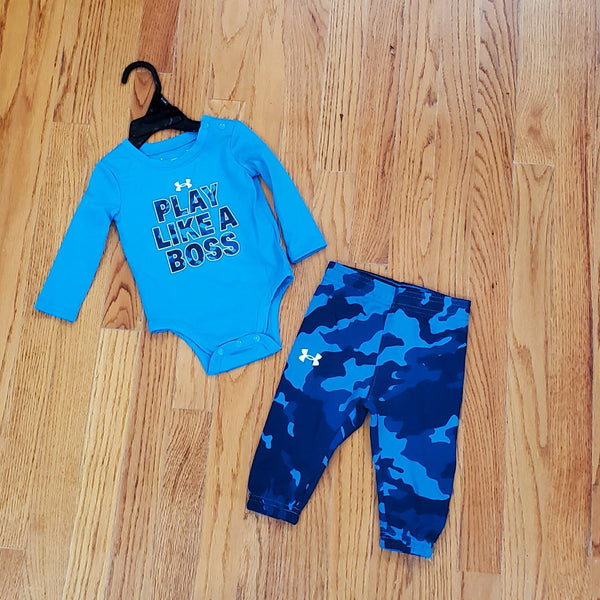 Under Armour Play like a Boss long sleeve 2pc Set