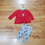 Carhartt Deer and Poppy Flower Set