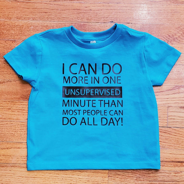 Unsupervised minute T-shirt