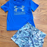 UA Blue Circuit Camo Set