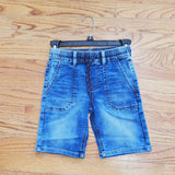 Mayoral Soft Denim Jogger Shorts