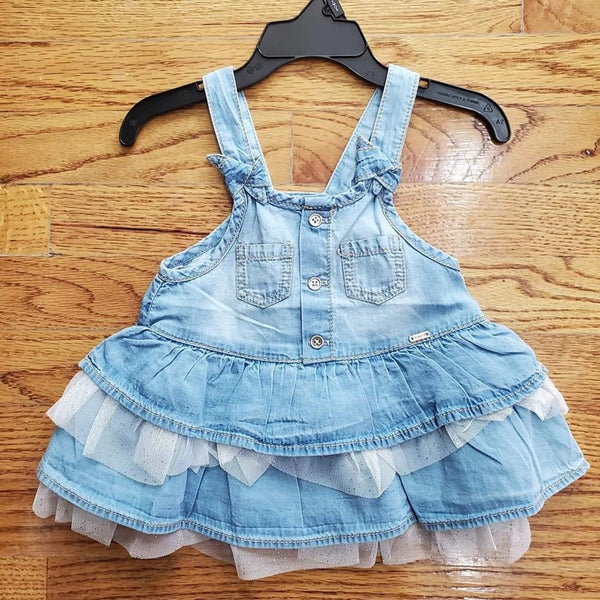 Mayoral Baby Girl Skirt Romper