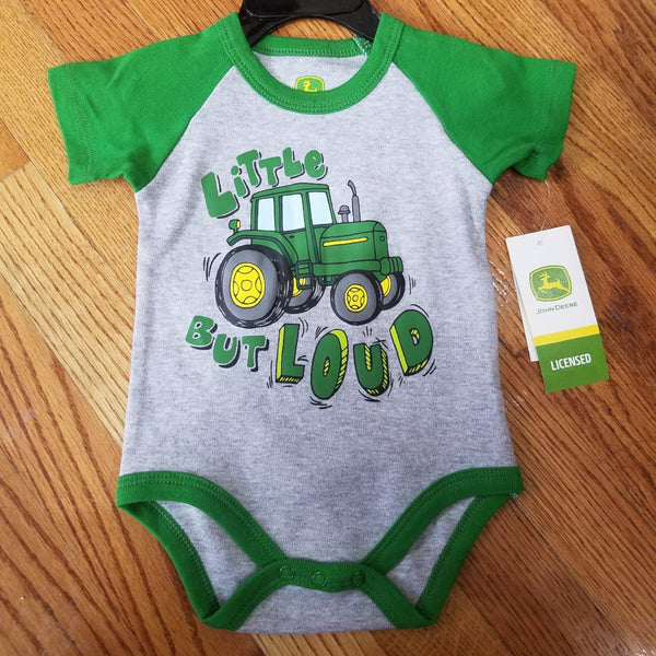 John Deere Little but Loud Onesie