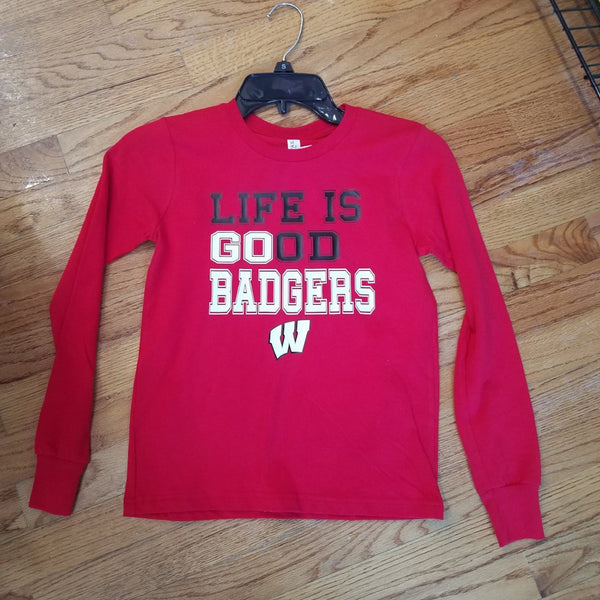 Life is Good Go Badgers Long sleeve