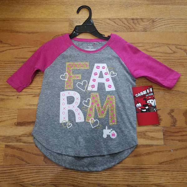 Case IH Glitter Farm shirt