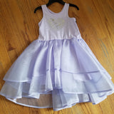 Isobella and Chloe heart and star Tutu dress( 2 COLORS)
