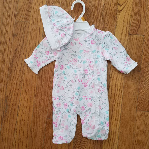 Little Me Spring Floral Sleeper
