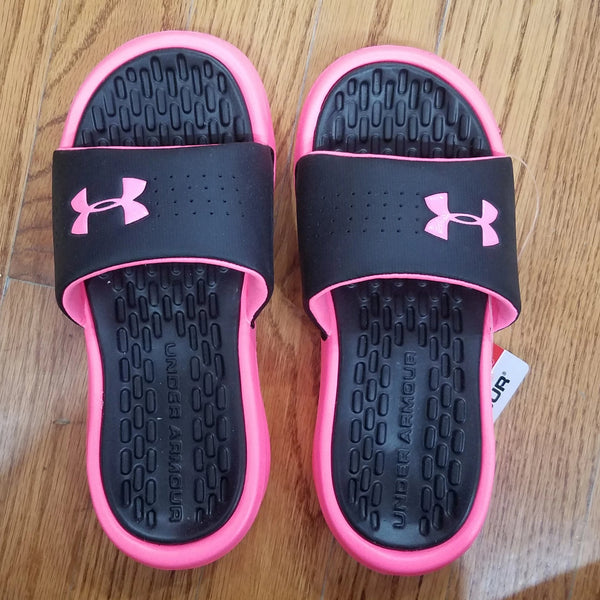 Under Armour Playmaker Fix Slide pink