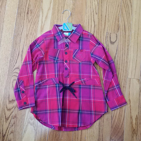 Noruk Girls Plaid Tunic