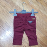 Noruk Baby Boy Burgundy Pants