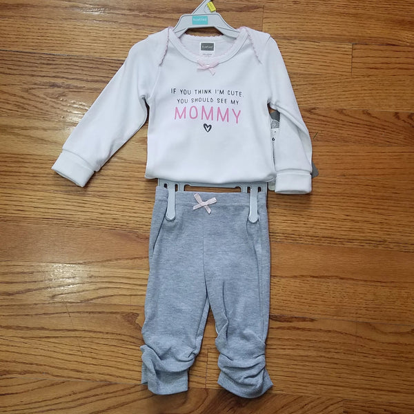Kushies You Should See Mommy 2pc Set