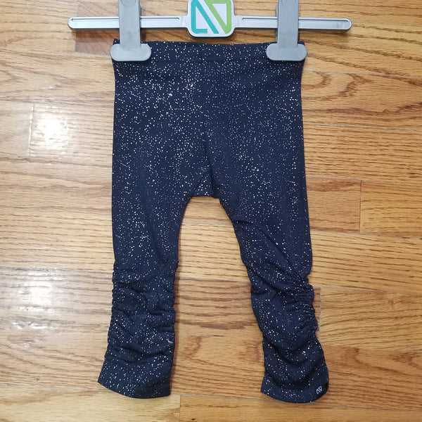 Noruk Navy sparkle leggings