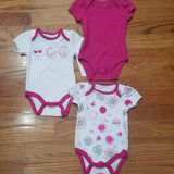 Sterling baby 3pc onesie set