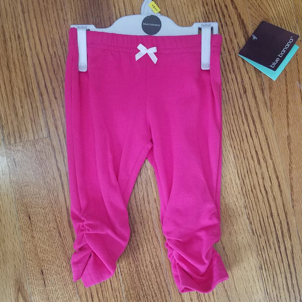 Kushies pink baby leggings