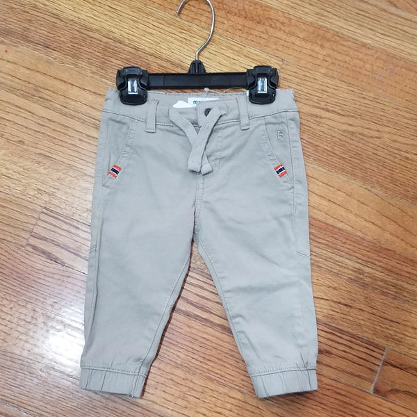 Mayoral Khaki cuffed bottom pants