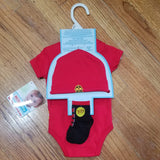Nuby Fire Dept 3pc set