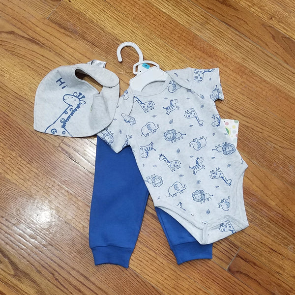 Little Me Safari 3pc Set