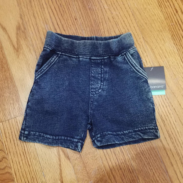 Kushies cotton denim colored short