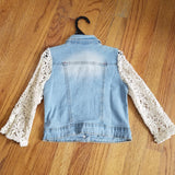 ML Kids Lace Denim Jacket
