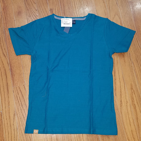 Boys Teal Slub Jersey T-shirt