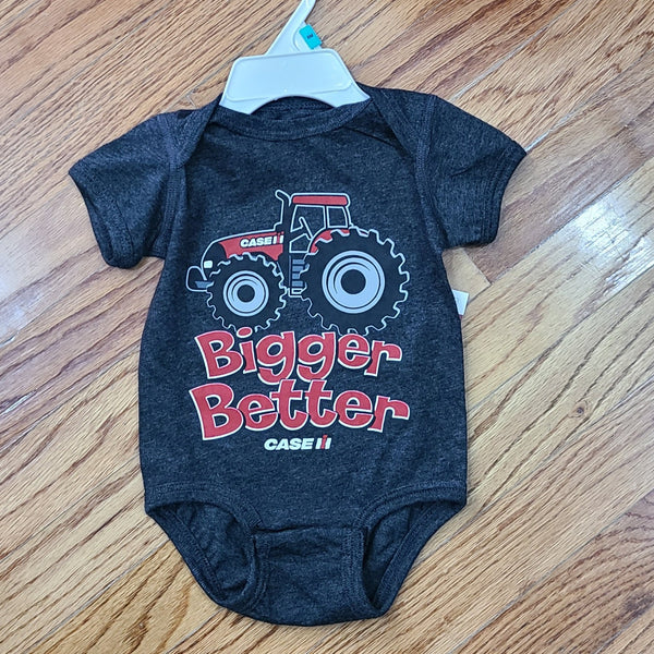 Case IH Bigger Better Onesie