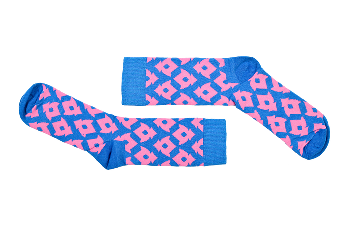 Blue and Pink Pattern