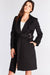 Black Belted Long Coat