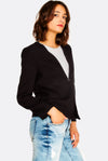 Black Blazer With Pockets