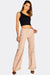 Nude Wide Leg Trousers