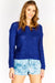 Royal Blue Long Sleeve Jumper