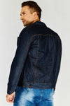 Dark Denim Short Jacket