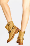Brown Chain Boots