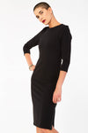 Slim Fit Dress With Zip Opening
