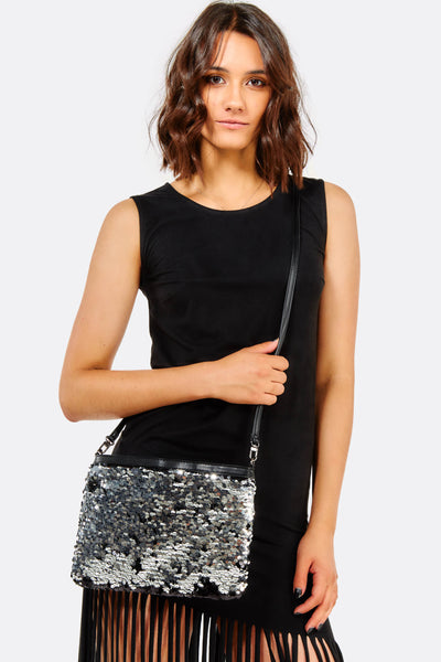 Black Bag With Sequins