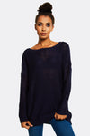 Navy Long Jumper