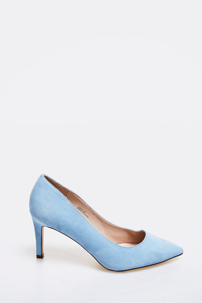Pale Blue High Heel Shoes