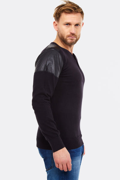 Black Cotton Jumper