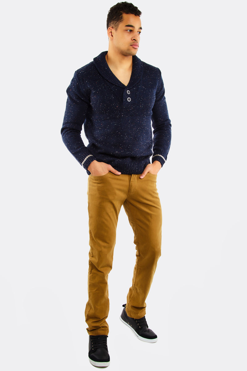 Bight Brown Straight Trousers