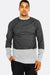 Black Sweatshirt With Raglan Sleeves