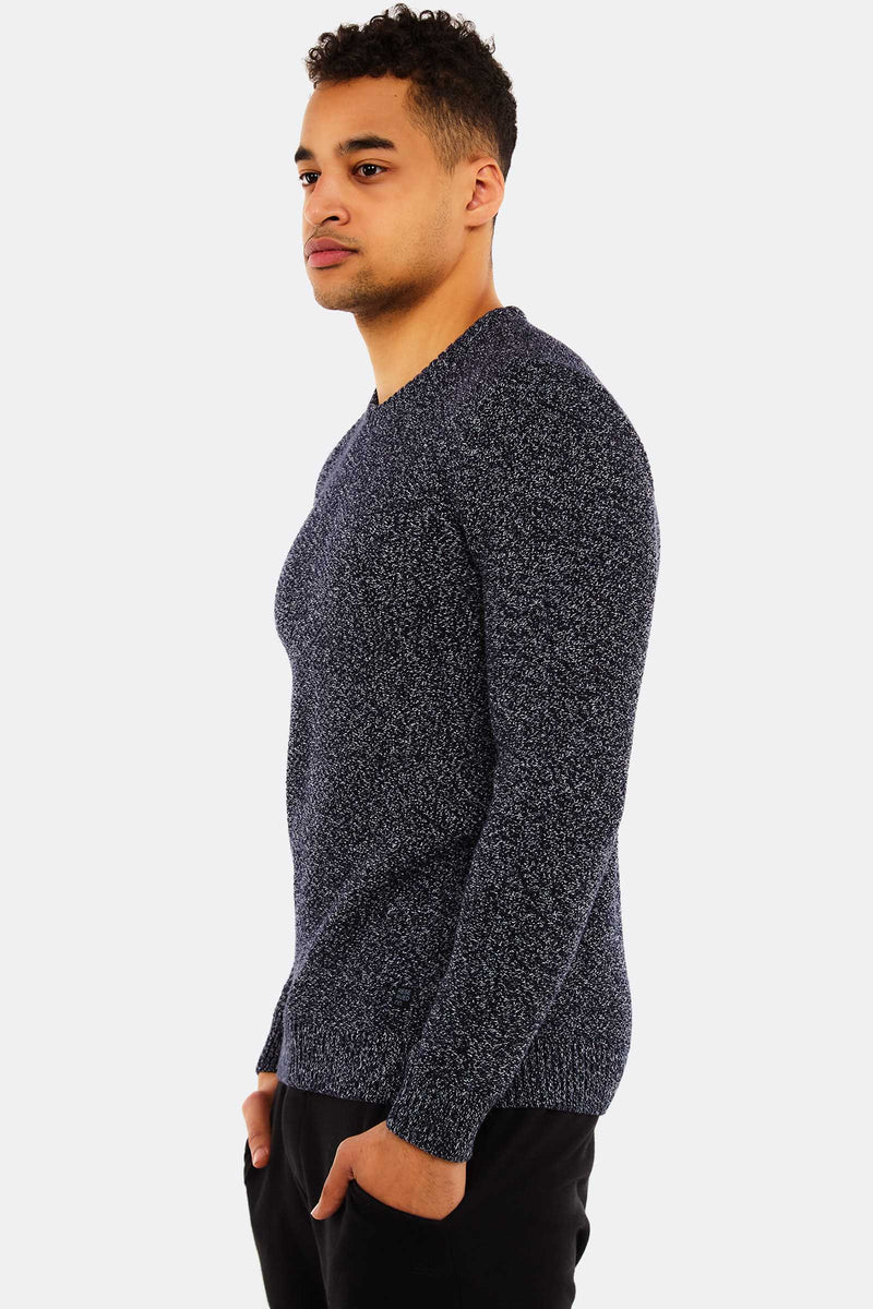 Navy Cotton Jumper